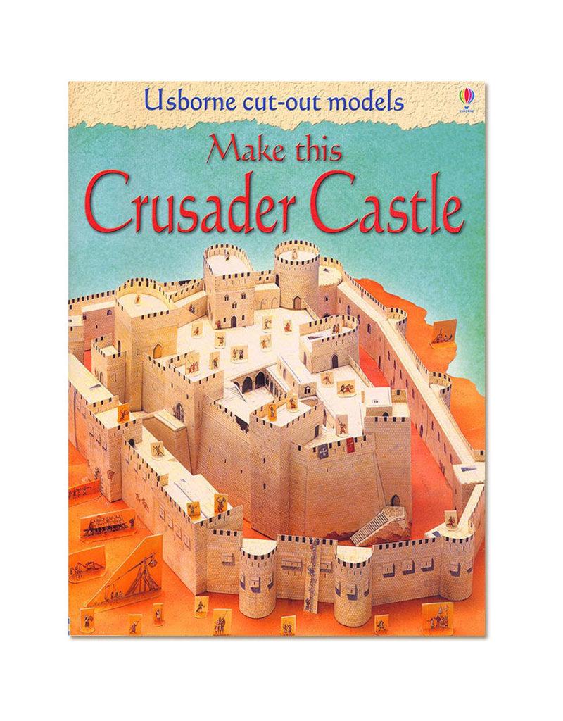Usborne Publishing Maak zelf een kruisvaarderskasteel (bouwplaat)