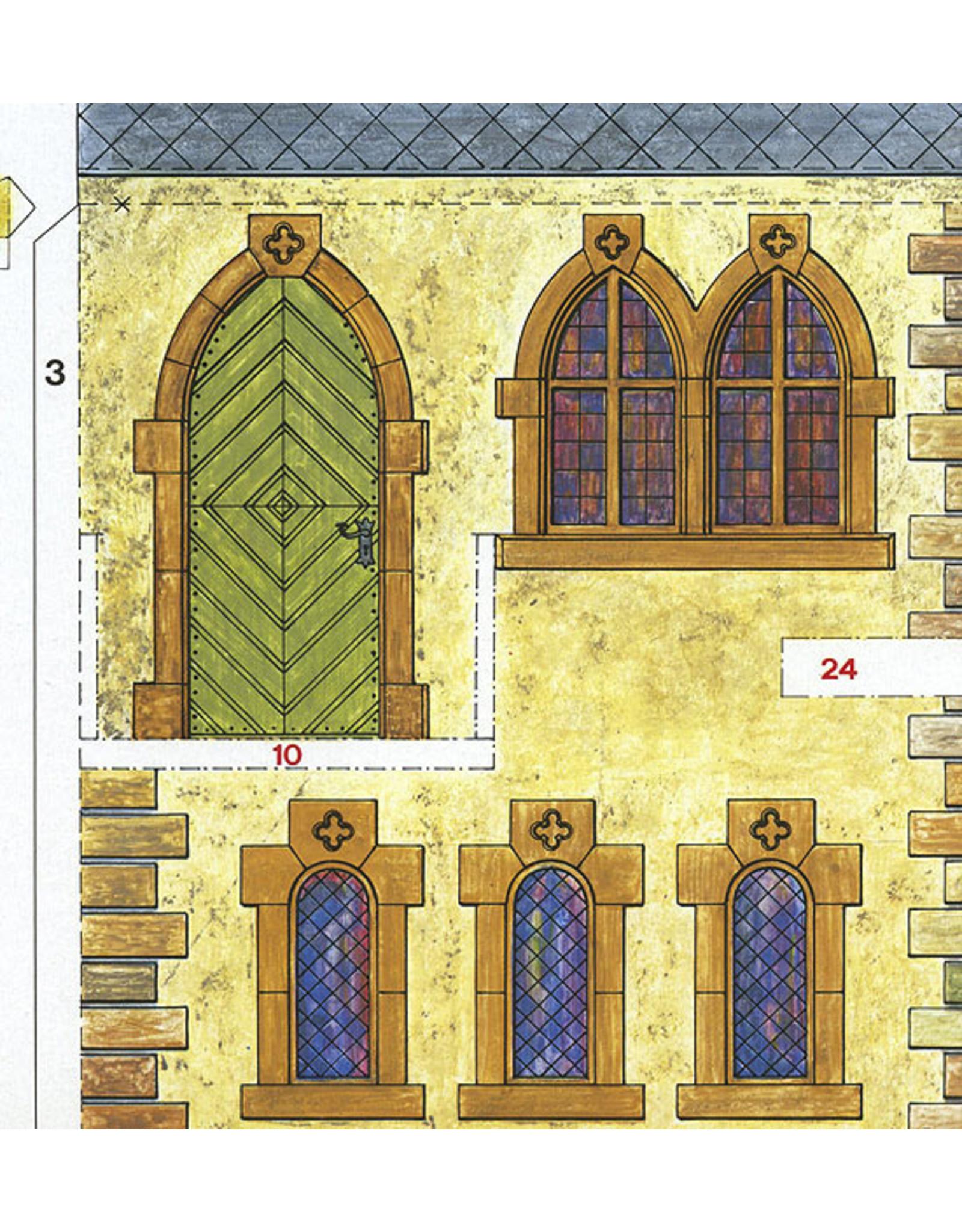 Schreiber-Bogen Middeleeuws Kasteel (bouwplaat)
