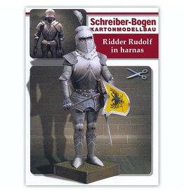 Schreiber-Bogen Ridder Rudolf in Harnas (bouwplaat 1:9)