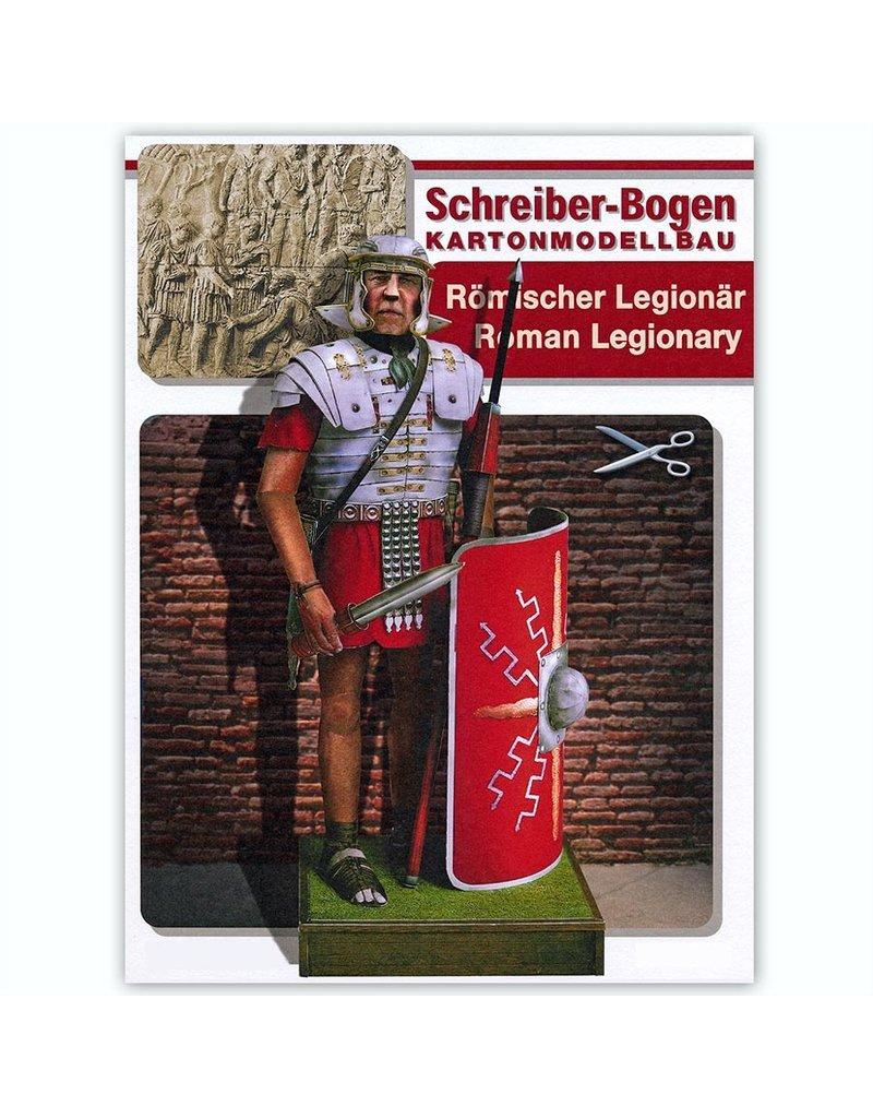 Schreiber-Bogen Romeins legionair (bouwplaat 1:9)