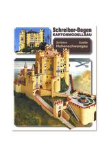 Schreiber-Bogen Slot Hohenschwangau (bouwplaat 1:160)
