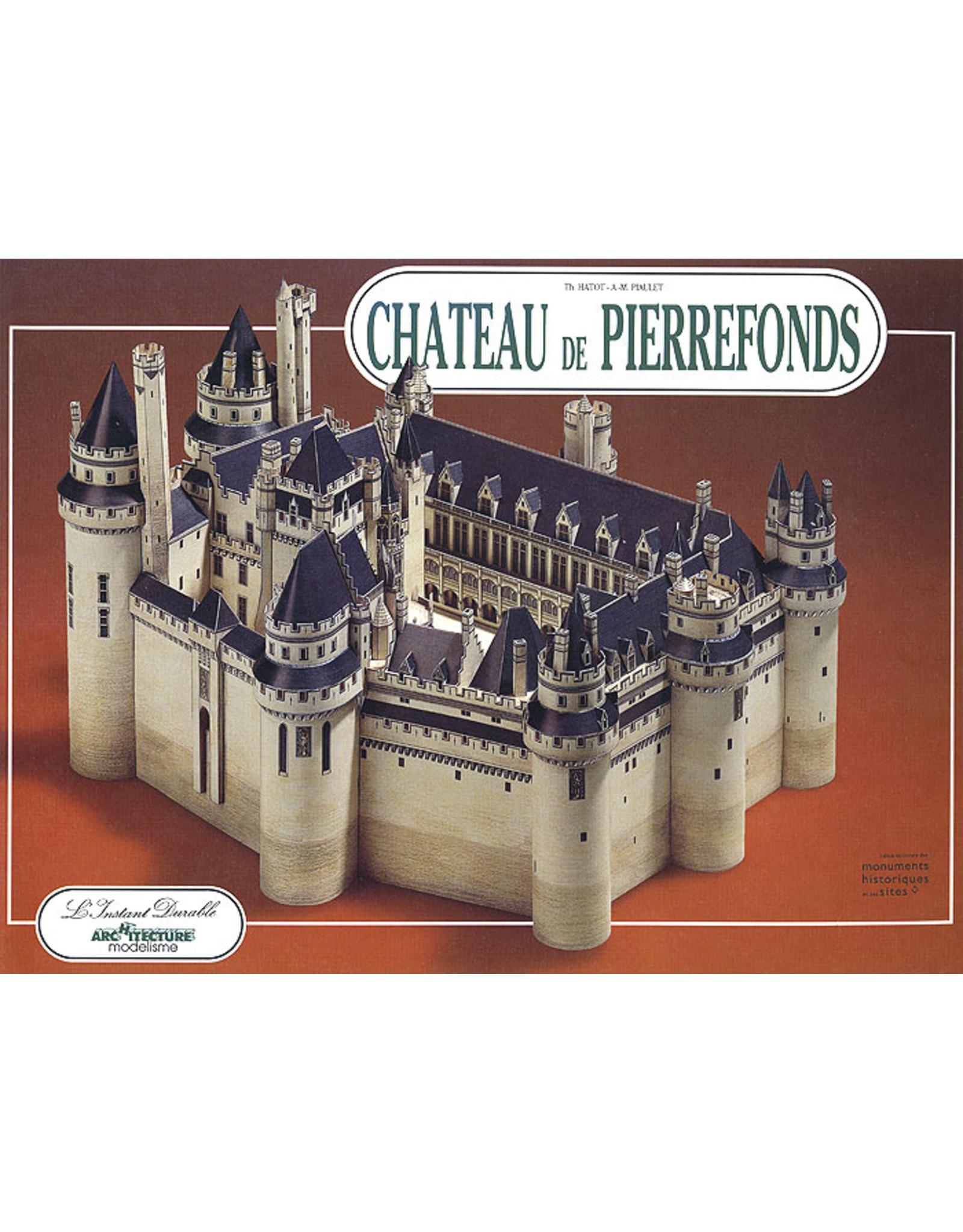 L'Instant Durable Chateau de Pierrefonds (bouwplaat 1:250)