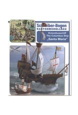 Schreiber-Bogen Columbusschip Santa Maria (bouwplaat 1:100)