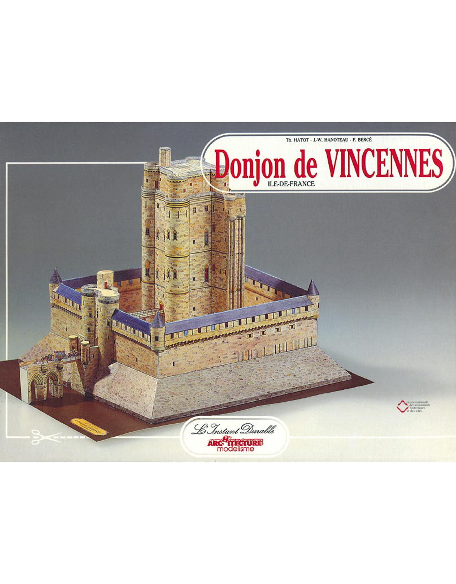 L'Instant Durable Kasteel van Vincennes (bouwplaat 1:250)