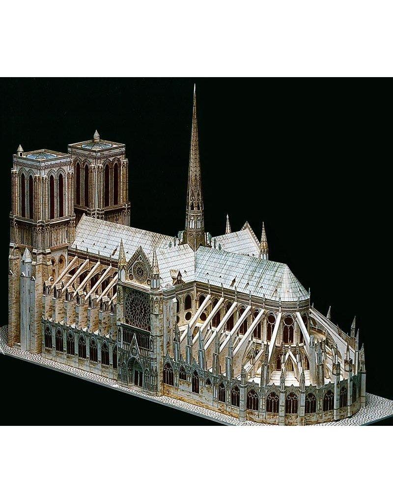 L'Instant Durable Kathedraal Notre-Dame Parijs (bouwplaat 1:250)