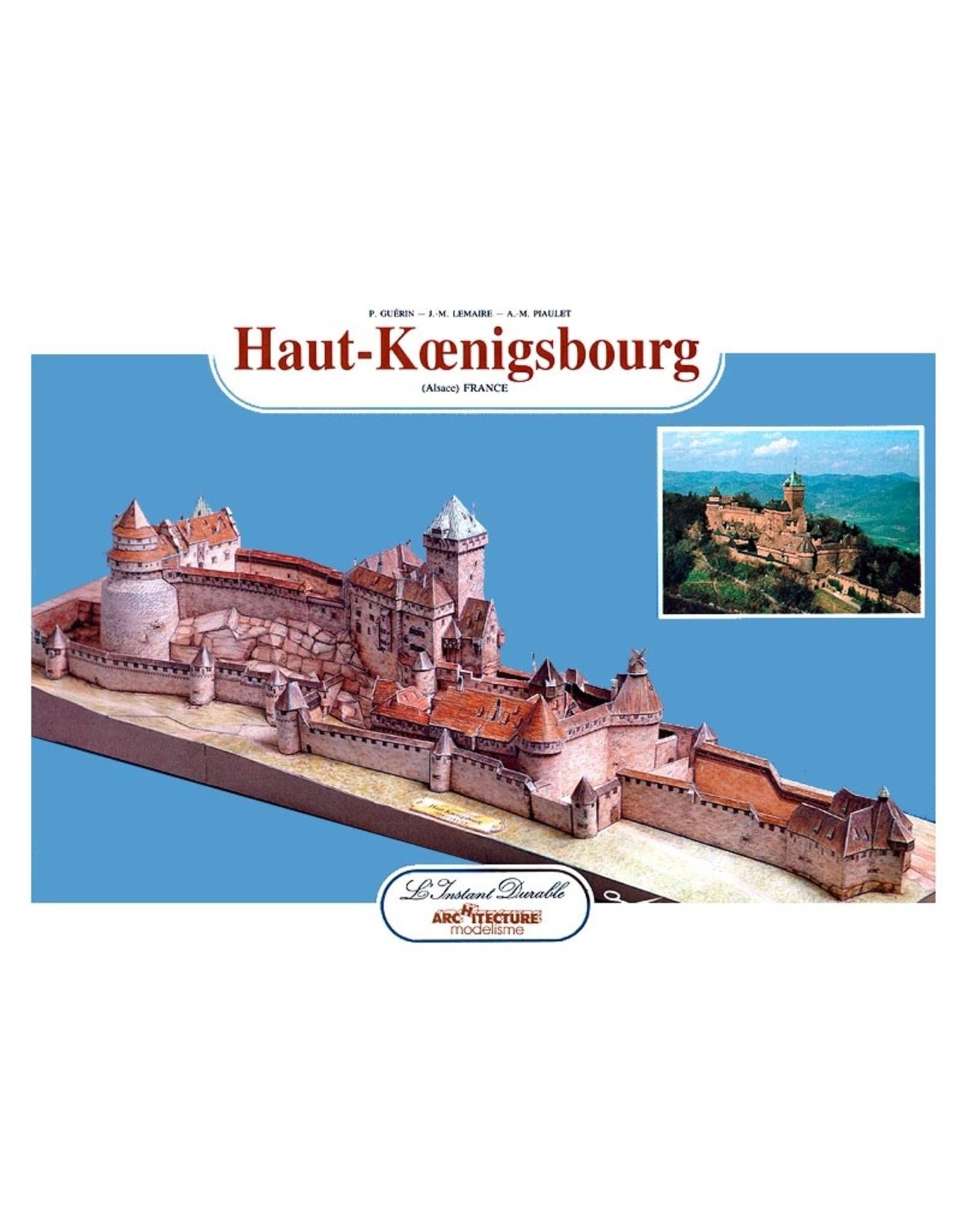 L'Instant Durable L'Instant Durable Haut-Koenigsburg (bouwplaat 1:400)