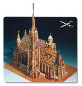 Schreiber-Bogen Stephansdom in Wenen (bouwplaat 1:300)