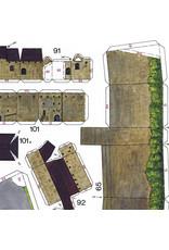Schreiber-Bogen Vesting Hohensalzburg (bouwplaat 1:400)