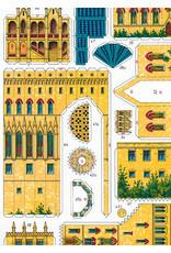 Schreiber-Bogen Burcht Hohenzollern (bouwplaat 1:250)
