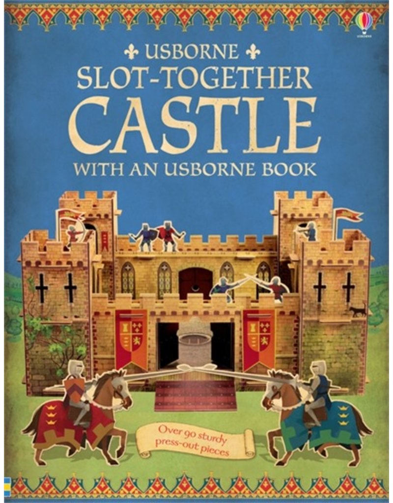 Usborne Publishing Slot-Together Castle (Bouw je eigen kasteel)