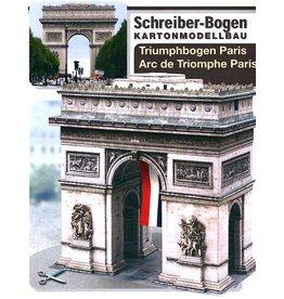 Schreiber-Bogen Arc de Triomphe Parijs (Triomfboog - bouwplaat 1:250)