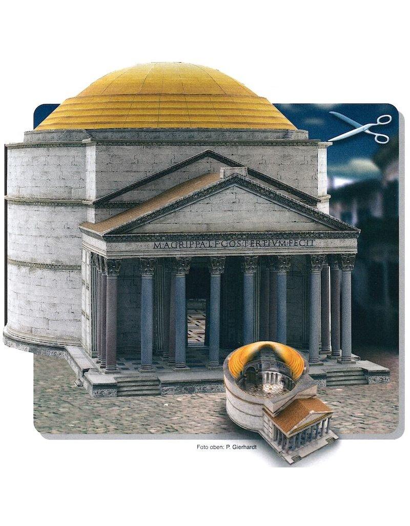 Schreiber-Bogen Pantheon Rome (bouwplaat 1:300)