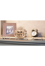 Ugears mechanische 3D-bouwpakketten Tram (mechanisch houten 3D-bouwpakket)