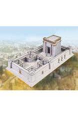 Schreiber-Bogen Tempel in Jeruzalem (bouwplaat 1:400)