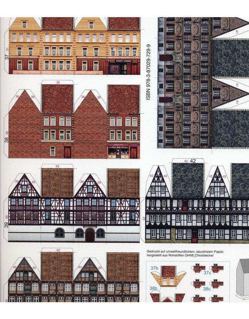 Schreiber-Bogen Middeleeuwse Stad (1:250)