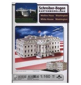 Schreiber-Bogen Het Witte Huis Washington (1:160)