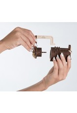 Ugears mechanische 3D-bouwpakketten Ugears Cryptex combinatie-slot (mechanisch houten 3D-bouwpakket)
