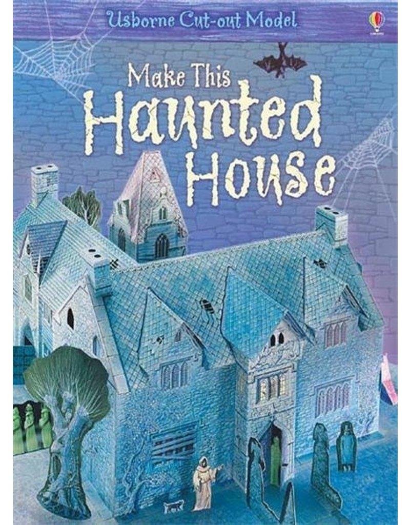 Usborne Publishing Maak zelf een Spookhuis (bouwplaat)