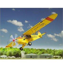 Schreiber-Bogen Piper Super Cup PA-18 vliegtuig (1:24)