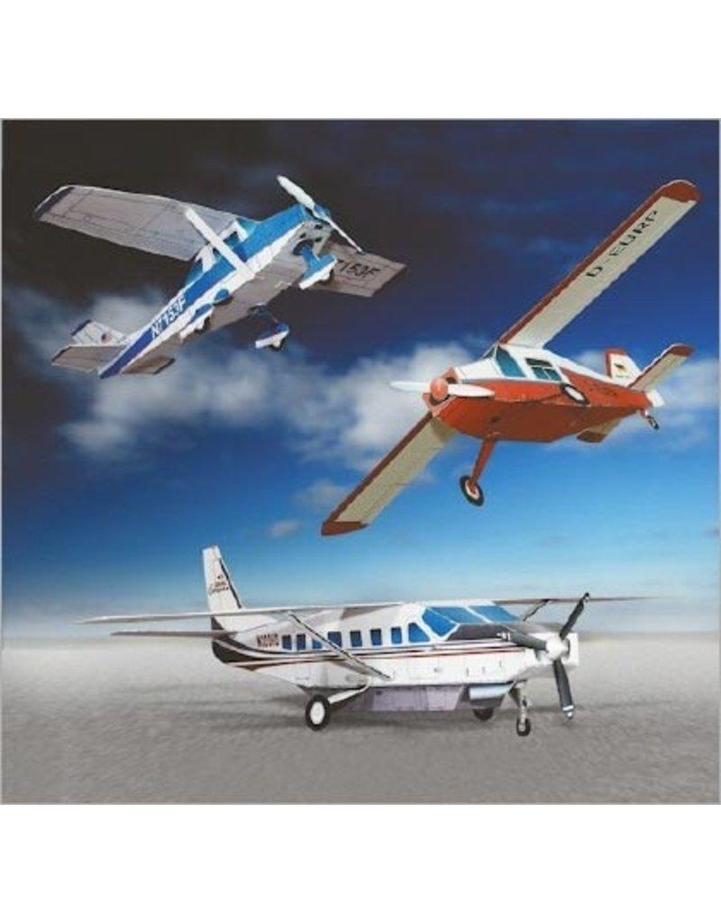 Schreiber-Bogen Drie kleine vliegtuigen (1:100)