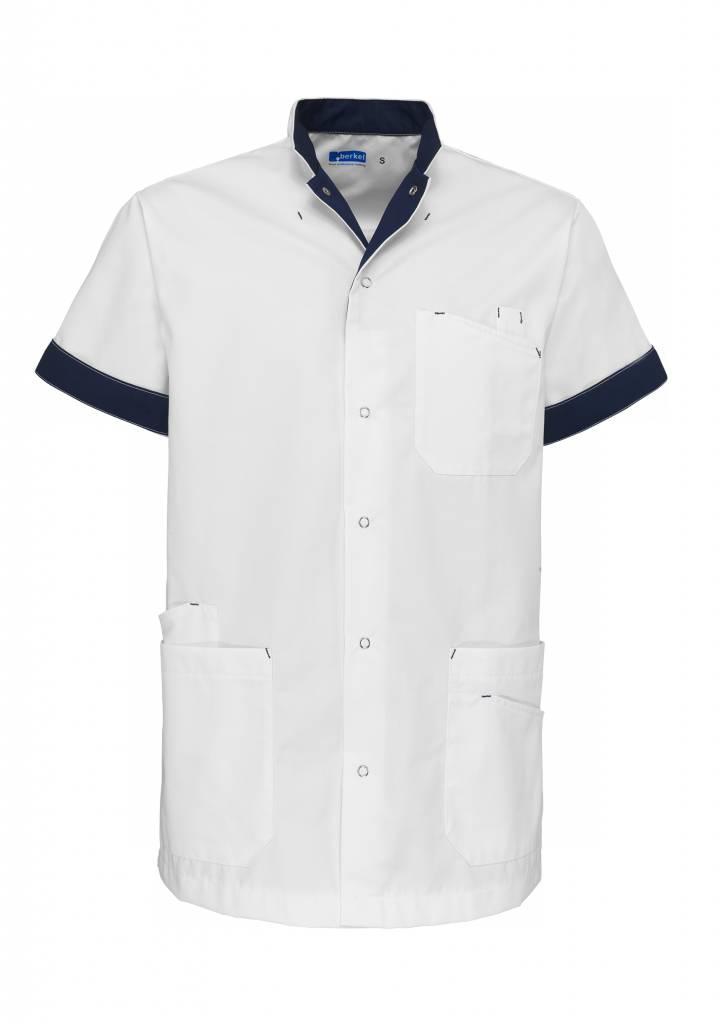 De Berkel Jack Livio wit - marineblauw