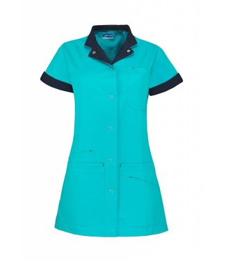 De Berkel Jack dames Livia turquoise/marineblauw