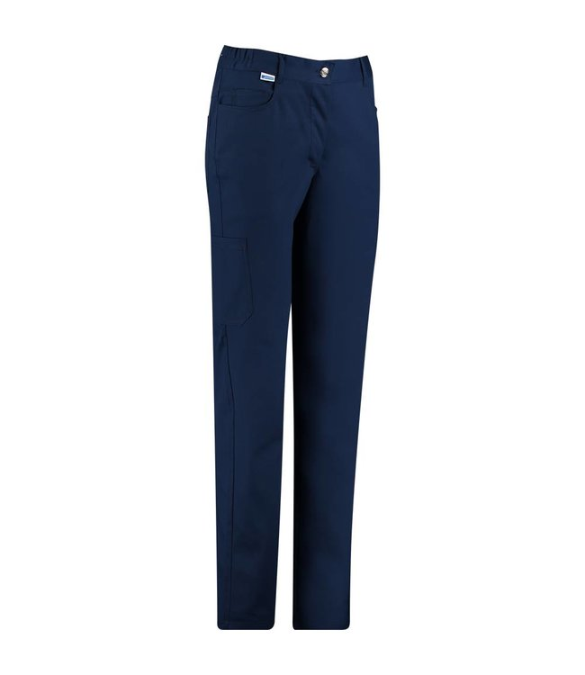 De Berkel Broek Tooske navy stretch