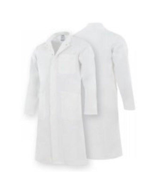 Uitverkoop Alsico heren doktersjas A6615 wit