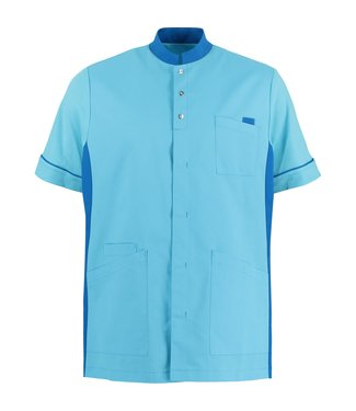 Shae Heren tuniek Arthur turquoise
