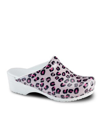 Sanita Sanita Klomp Wildlife Leopard open roze