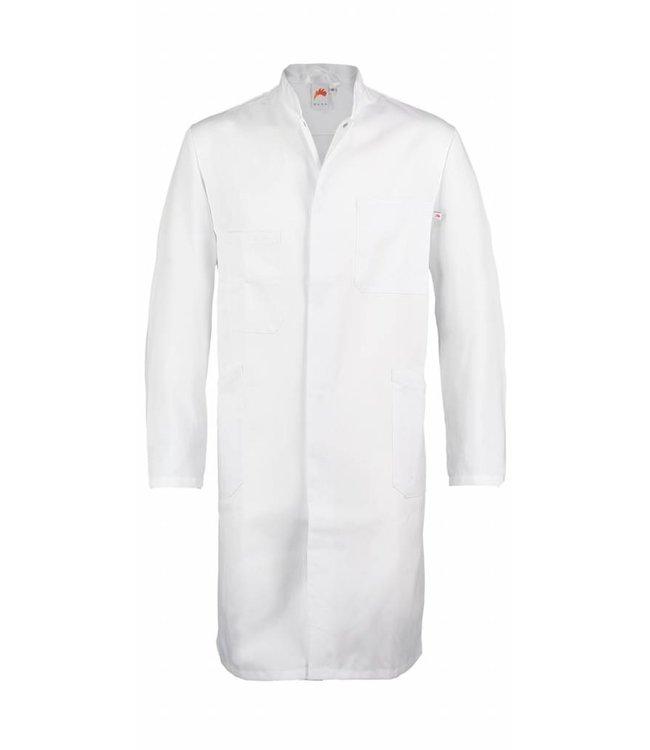 Lange jas Ramon wit