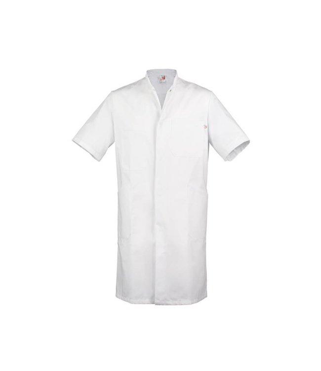 Lange jas Marcel wit