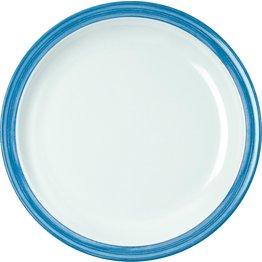 """Teller flach """"Colour"""" Ø23,5cm Melamin  blau"""