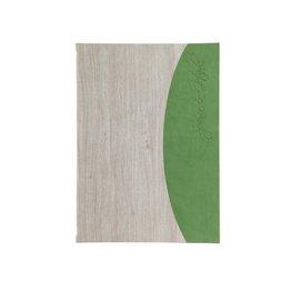 """Speisenkarte """"Felia"""" A4 white wash + grün"""