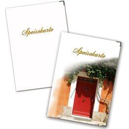 Speisenkarte A4 mit 6 Passepartouts 5er Pack