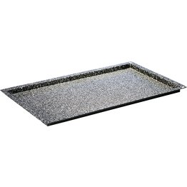 Konvektomatenblech GN, Granit-Emaille 2/3 4cm