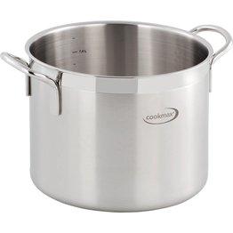 "Gemüse-/Suppenkessel ""Cookmax Gourmet"" Ø 24 cm, H: 20 cm. Inhalt 9 L"