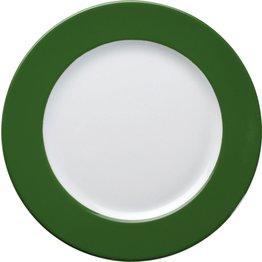 Teller flach Ø 26 cm grün