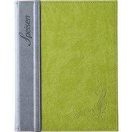 """Speisenkarte """"Flora"""" A5 limone"""