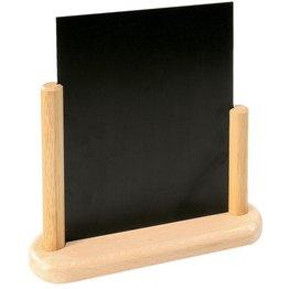 Tischtafel inkl. Gestell aus Holz natur A4