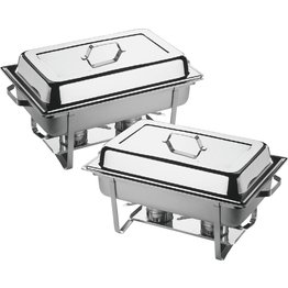 "Chafing Dish ""Twin Set"" GN 1/1, 2er Set"