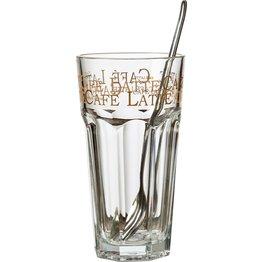 """Glas """"Latte Macchiato"""""""