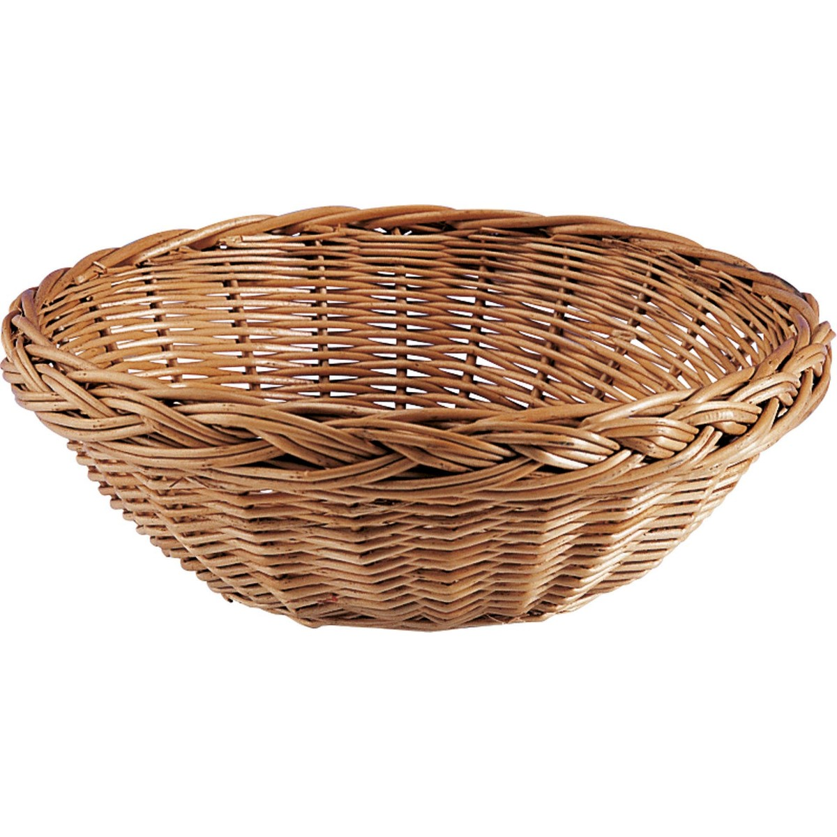 Brot-/Servierkorb, Weide rund