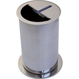 Abstreifbehälter
