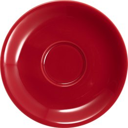 Kaffee-/Cappuccinotasse untere rot