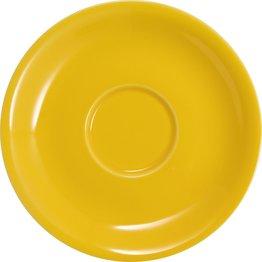 Jumbo-/Lattetasse untere gelb