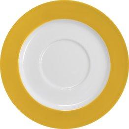 Tasse untere Ø 15 cm gelb