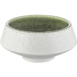"Porzellan Serie ""Samoa"" grün Schale Ø 10cm - NEU"