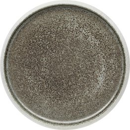 "Porzellan Serie ""Samoa"" grau Teller flach Ø23cm - NEU"