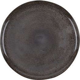 "Porzellanserie ""Spices"" Black Pepper Teller flach Ø27cm - NEU"